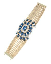 Carolee | Blue Note Multi-chain Bracelet | Lyst