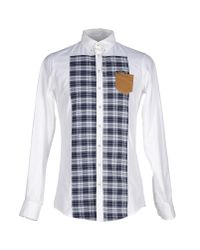 DSquared² | White Shirt for Men | Lyst