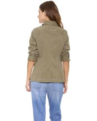 Marc By Marc Jacobs | Green Zeta Twill Jacket | Lyst