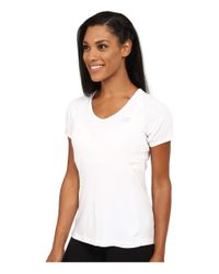 New Balance | White Tournament Short Sleeve Burnout Top | Lyst