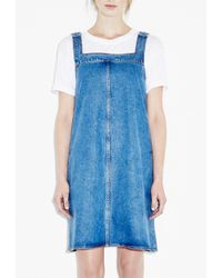 M.i.h Jeans - Blue Protest Pinafore - Lyst
