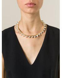 Ca&Lou | Metallic 'suki' Necklace | Lyst