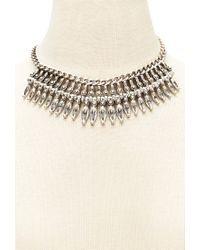 Forever 21 - Metallic -inspired Charm Necklace - Lyst