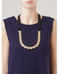 Osklen | Metallic Gold-tone Chain Necklace | Lyst