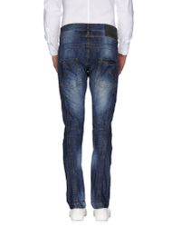 John Galliano - Blue Denim Trousers for Men - Lyst