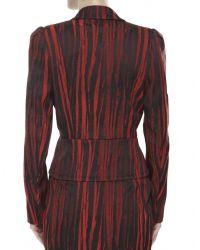 Vivienne Westwood Anglomania - Black Arizona Stripe Fitted Jacket - Lyst
