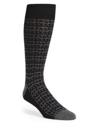 Calibrate | Black Dot Socks for Men | Lyst
