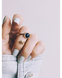 Bing Bang - Metallic Air Amulet Ring - Lyst