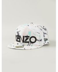 KENZO | White 'New Era' Cap | Lyst