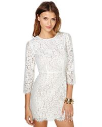 Nasty Gal | White Addicted To Love Dress | Lyst