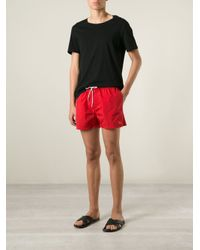 Burberry Brit | Embroidered Logo Swim Shorts for Men | Lyst