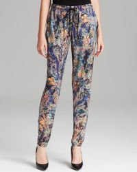 Nicole Miller Artelier | Multicolor Pants Tapestry Stretch Charm | Lyst