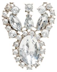 H&M - Metallic Sparkly Stone Earrings - Lyst