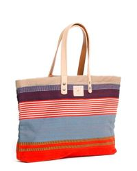 Will Leather Goods | Natural House' Reversible Canvas Tote | Lyst