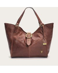Frye - Brown Belle Bohemian Satchel - Lyst