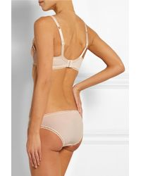 Stella McCartney - Pink Reilley Adoring Stretch-Lace And Jersey Maternity Briefs - Lyst
