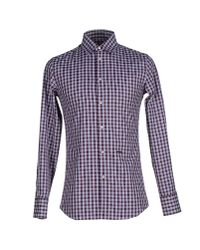 DSquared² - Purple Shirt for Men - Lyst