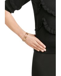 Marc By Marc Jacobs | Metallic Disc-o Happy House Cuff Bracelet - Gold | Lyst