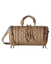 Steve Madden | Brown Bpeyton Quilted Barrel | Lyst