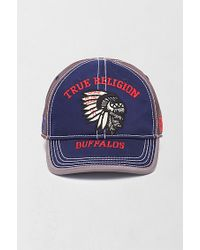 True Religion | Blue Buffalos Baseball Cap for Men | Lyst