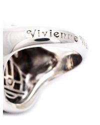 Vivienne Westwood - Brown 'ryan' Stone Ring - Lyst