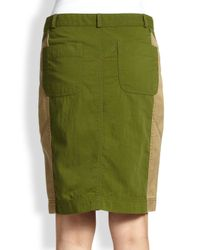 Marc By Marc Jacobs - Green Army Pencil Skirt - Lyst