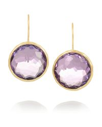 Ippolita | Purple Lollipop 18-Karat Gold Amethyst Earrings | Lyst