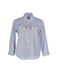 Peter Jensen - Blue Shirt - Lyst