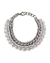 Alienina | Gray Necklace | Lyst