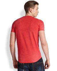 DSquared² - Red Jailmate Cotton Tee for Men - Lyst