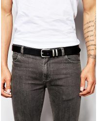 Jack & Jones | Black Scandi Leather Belt for Men | Lyst