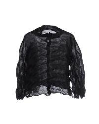 Issey Miyake Cauliflower - Black Shirt - Lyst