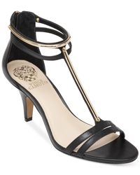 Vince Camuto - Black Mitzy Dress Sandals - Lyst