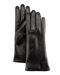 Grandoe - Black Leather Tech Gloves - Lyst