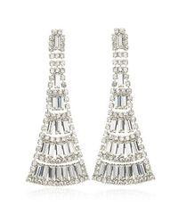 Elizabeth Cole | Metallic Harlow Earrings | Lyst
