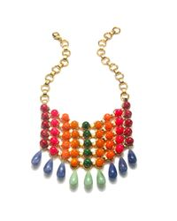 DANNIJO | Metallic Gradient Bib Necklace | Lyst