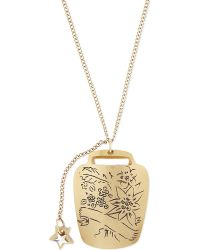 Tatty Devine | Metallic Capricorn Birthday Necklace | Lyst