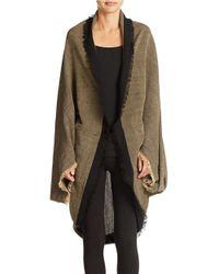 Free People - Green Cocoon Wrap Kimono - Lyst