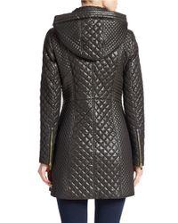 Via Spiga | Black Quilted Jacket | Lyst