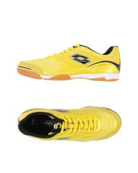Lotto - Yellow Low-tops & Trainers for Men - Lyst