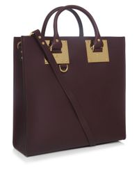 Sophie Hulme | Purple Albion Large Square Tote Bag | Lyst