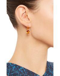 Renee Lewis - Orange 18K Yellow Gold Citrine Earrings - Lyst