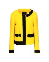 Boutique Moschino - Yellow Blazer - Lyst