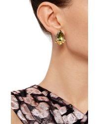 Bounkit | Multicolor Stringed Rose Quartz Drop Earrings | Lyst