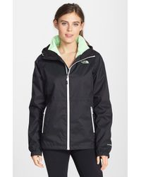 lyst the north face momentum triclimate 3 in 1 jacket in black rh lyst com