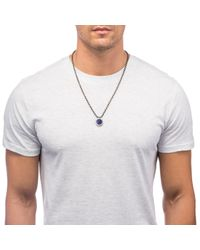 Lulu Frost | Blue Poison Necklace - Inner Peace for Men | Lyst