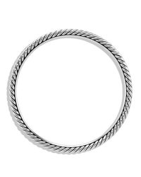 David Yurman | Metallic Cable Classics Bangle | Lyst