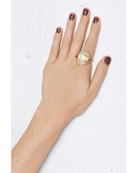 Nasty Gal | Metallic Major Magic Crystal Ring | Lyst