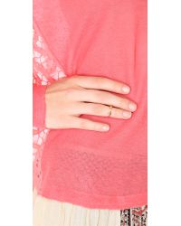 Vita Fede | Pink Ultra Mini Titan Ring | Lyst