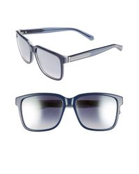 Marc By Marc Jacobs | Blue 56mm Retro Sunglasses for Men | Lyst